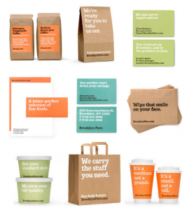 Packaging avec message
