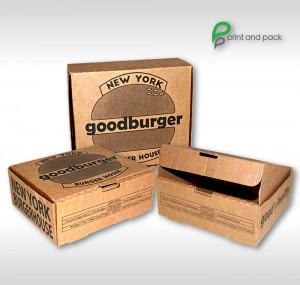 box burger carton